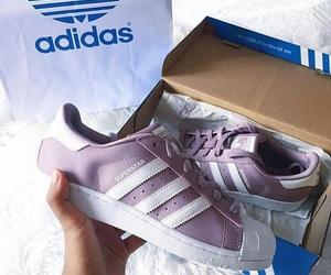 adidas, superstar, and purple image