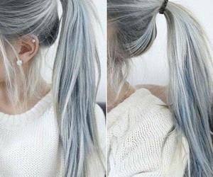 """grey hair"""" """"ponytail image"""