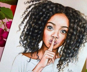 drawing and skai jackson image