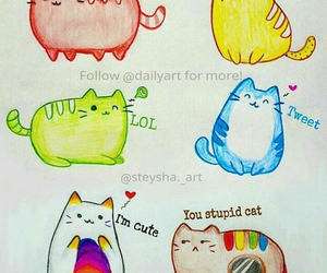 cute, cat, and apps image