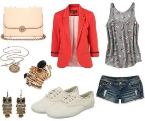 fashion, casual day, and outfit image