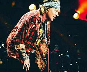 ac dc, axl rose, and Guns N Roses image