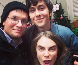 john green, paper towns, and nat wolff image
