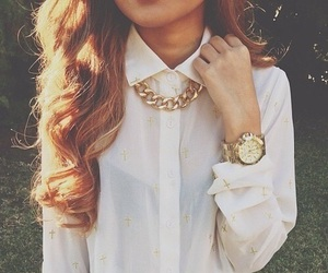 dress, hair, and jewerly image