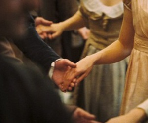 dance, dress, and hands image