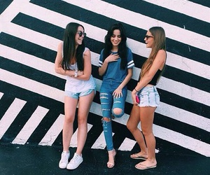 girl, camila cabello, and fifth harmony image