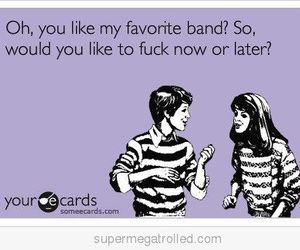 cards, fuck, and favourite band image