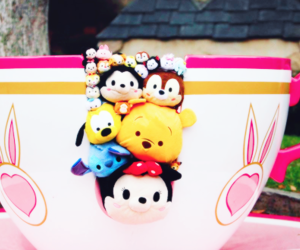 disney, tsum tsum, and cup image