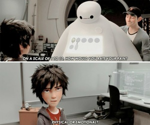 disney, big hero 6, and baymax image