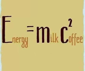 coffee, milk, and energy image