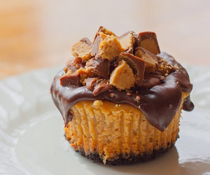 dessert, food, and cupcake image