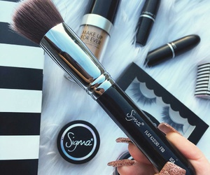 Brushes, makeup, and sigma image