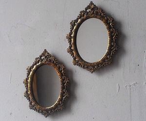 mirror, grunge, and vintage image