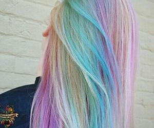 hair, beautiful, and beauty image
