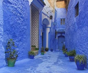morocco, chefchaouen, and blue image