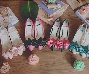 ribbons and shoes image