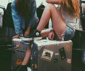 bff, travel, and cool image