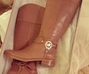 boots, fashion, and Michael Kors image