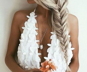 hair, fashion, and white image