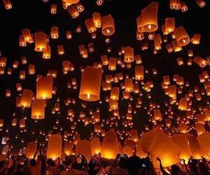 amazing, beautiful, and lantern image