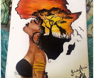 Afrika, paintings, and art image