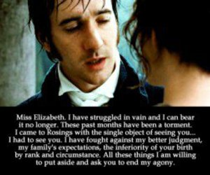 love, pride and prejudice, and Elizabeth image