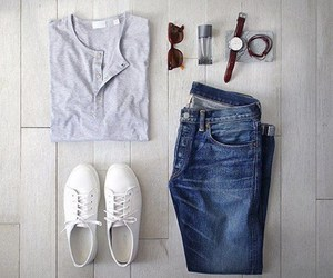 clothes, fashion, and sneakers image