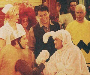 friends, ross geller, and chandler bing image