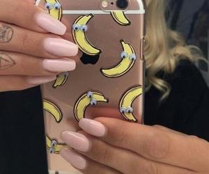 banana, case, and nails image