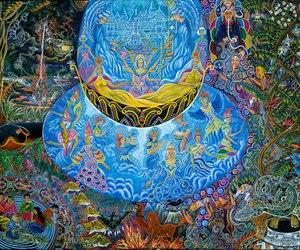 acid, art, and drawing image