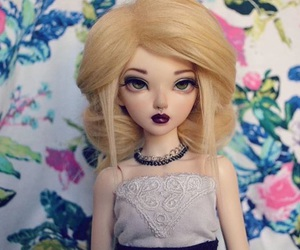 dolls, dress, and necklace image