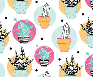 pattern and plant image