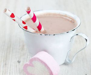 cacao, pink, and corazon image