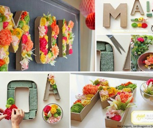 flowers, diy, and mom image