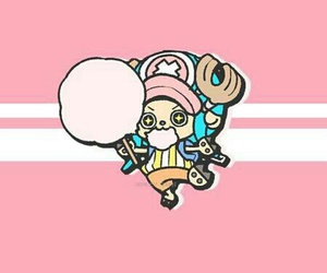anime, pink, and chopper image