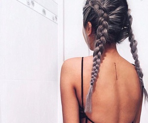 braid, braids, and french image