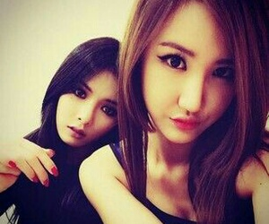 hyuna, 4minute, and exid image