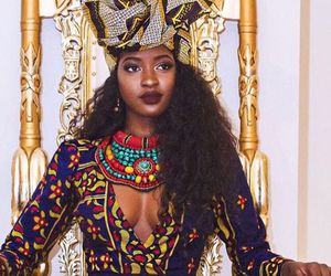 Queen, African, and melanin image