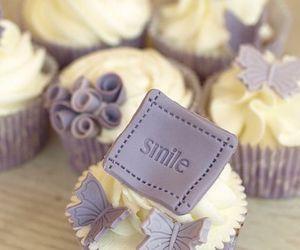 cupcake, sweet, and smile image