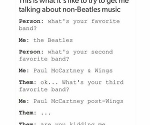 Paul McCartney, the beatles, and wings image