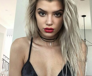 alissa violet, hair, and make up image