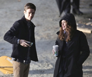 behind the scene, danielle panabaker, and the flash image