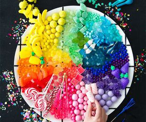 colorful, food, and colors image