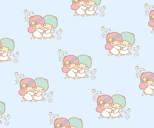 background, iphone, and sanrio image