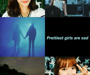 aesthetic, blue, and sinb image