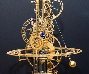 clock, mechanical, and steampunk image