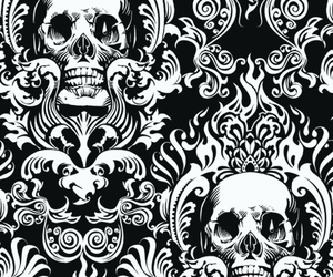 background, pattern, and black and white image