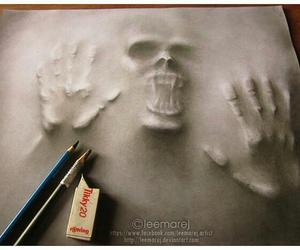 art, draw, and lápiz image