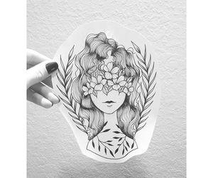 flores, tattoo, and tatuagem image