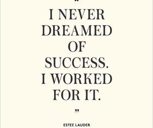 quote, Dream, and success image